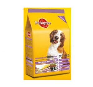 PEDIGREE SENIOR CHICKEN & RICE 3KG