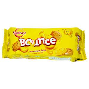 SUNFEAST BOUNCE PINEAPPLE ZING 100G