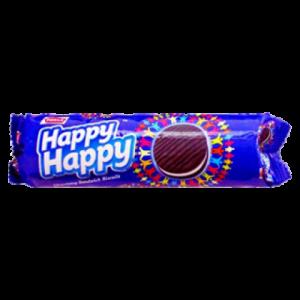PARLE HAPPY HAPPY TWIN FLAV CHOCO VAN 120G
