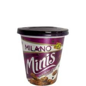 PARLE MILANO MINIS CHOCOLATE CHIP COOKIES; 75G