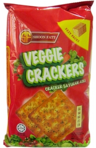 SHOON FATT VEGGIE CRACKERS 360G
