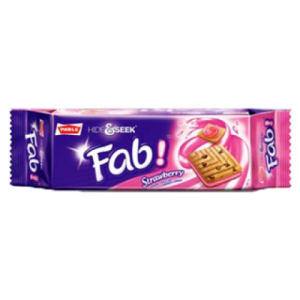 PARLE HIDE & SEEK FAB STRAWBERRY 100G