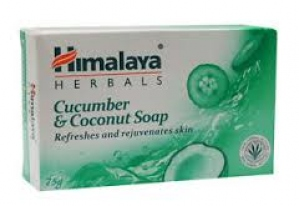 HIMALAYA CUCUMBER & COCONUT SOAP 75G