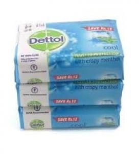 DETTOL COOL SOAP 3 X 75G