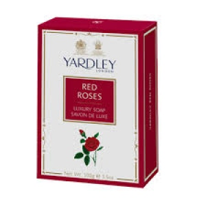YARDLEY SOAP RED ROSES 100G