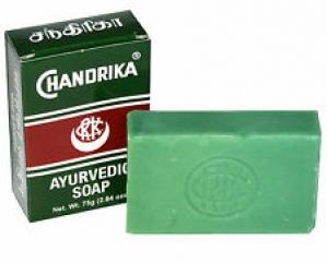 CHANDRIKA GLYCERINE AYURVEDA GEL BAR 75G