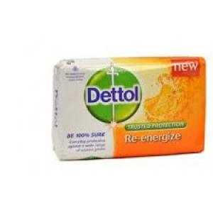 DETTOL RE-ENERGIZE SOAP 375GM