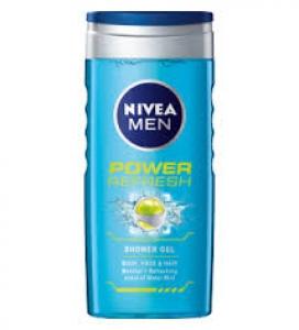 NIVEA MEN POWER REFRESH SHOWER GEL 250ML