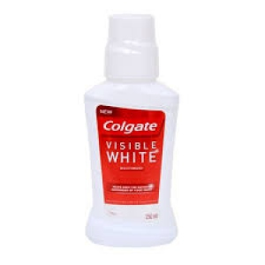 COLGATE VISIBLE WHITE MOUTHWASH 250ML