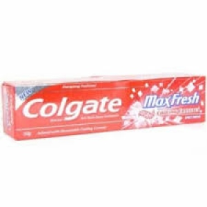 COLGATE MAX FRESH SPICY FRESH RED GEL 80G