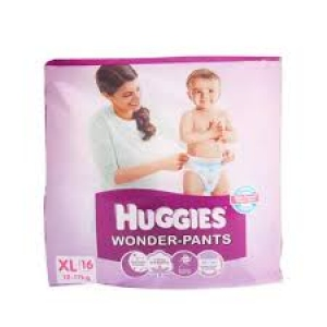 HUGGIES WONDER PANTS XL (12-17KG)16 PANTS