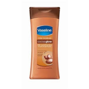 VASELINE TOTAL MOISTURE COCOA GLOW LOTION 300ML