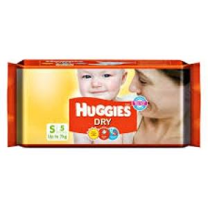 HUGGIES DRY  S 5