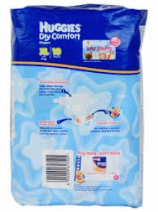 HUGGIES DRY COMFORT  XL 10
