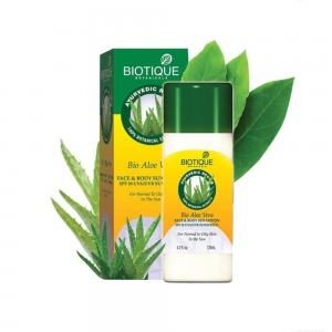 BIOTIQUE BIO ALOE VERA SPF-30 SUN LOTION 120ML