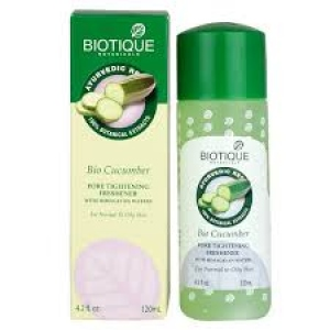 BIOTIQUE BIO CUCUMBER PORE TIGHTENING TONER 120ML