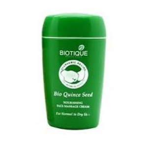 BIOTIQUE BIO QUINCE SEED FACE MASSAGE CREAM 55G