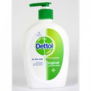 DETTOL ORIGINAL HW 2X 185ML+ KITCHEN GEL FREE