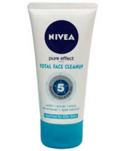 NIVEA PURE EFFECT TOTAL FACE CLEANUP 50ML