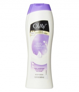 OLAY DAILY MOISTURIZER QUENCH BODY WASH 400ML