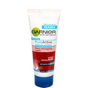 GARNIER PURE ACTIVE PORE UNCLOGGING WASH  50G