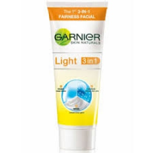 GARNIER LIGHT 3 IN 1 FAIRNESS FACIAL 100G