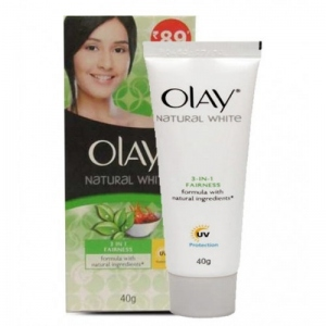 OLAY NATURAL WHITE 3 IN 1 FAIRNESS CREAM 40G