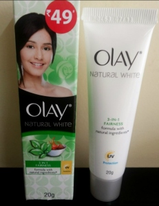 OLAY NATURAL WHITE 20G