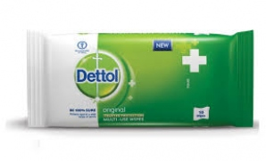 DETTOL MULTI - USE WIPES 10`S