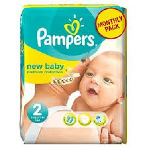 PAMPERS NEW BABY 2 DIAPERS