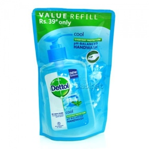 DETTOL COOL HW POUCH 185ML