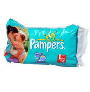 PAMPERS L 9