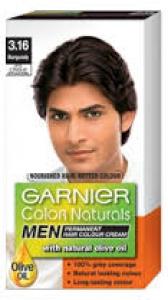 GARNIER COL.NAT. MEN NO. 3.16-BURGUNDY 24ML+ 16G