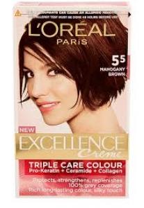 LOREAL PARIS EXCELLENCE 5.5-  MAHOGANY BROWN