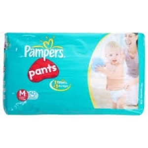 PAMPERS BABY DRY PANTS M (7-12KG) 42PCS