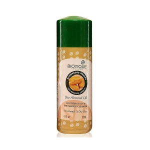 BIOTIQUE BIO ALMOND OIL F & E MAKEUP CLEANS 120ML