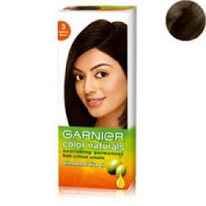 GARNIER COLOR NATURALS NO.3 DARKEST BROWN