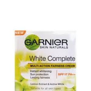 GARNIER WHITE COMPLETE SPF17 PA++ CREAM 33G