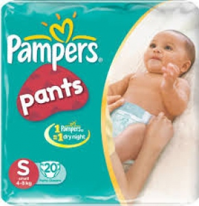 PAMPERS PANTS SMALL 20