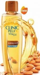 CLINIC PLUS  VITA OIL ALMOND GOLD 150ML