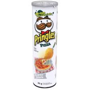 PRINGLES PIZZA FLAVORED 169G