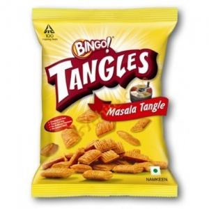 BINGO TANGLES MASALA NAMKEEN 40G