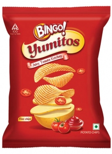 BINGO YUMITOS JUICY TOMATO KETCHUP 55G