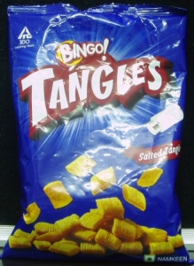 BINGO TANGLES SALTED TANGLE 100G