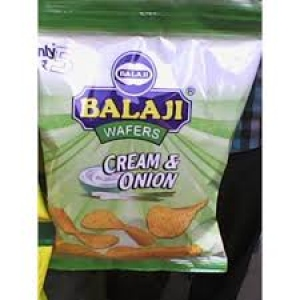 BALAJI WAFERS CREAM & ONION 40G