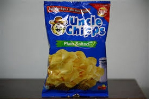 LAY`S UNCLE CHIPPS PLAIN SALTED 25G