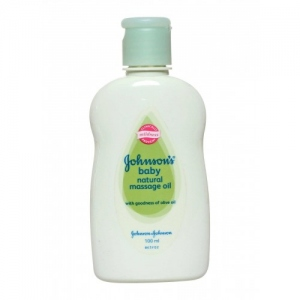 JOHNSON`S BABY NATURAL MASSAGE OIL 100ML
