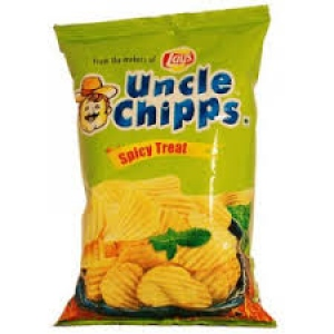 UNCLE CHIPPS SPICY TREAT 60G