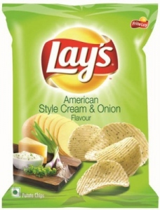 LAY`S AMERICAN STYLE CREAM & ONION 95G