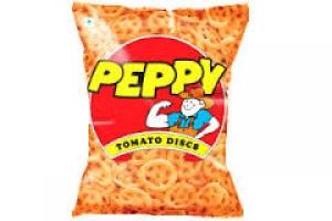 PEPPY TOMATO DISCS 75G